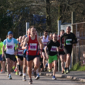 GALLERY: James Denne storms to victory in Mad March Hare 10k