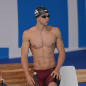 Proud shows his good form at Manchester International SwimMeet