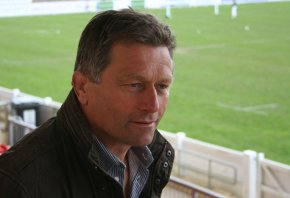 Graham Dawe feels expectation levels are higher for his second spell at PlymouthAlbion