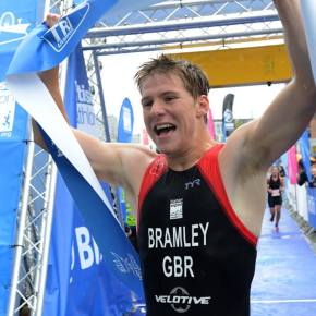Bramley's delight at British Triathlon Championship success