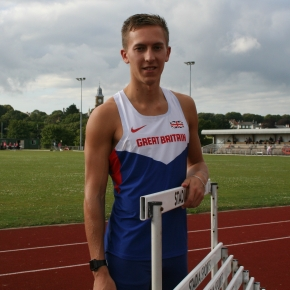 Plymouth hurdler King finishes third in British Champs at Birmingham