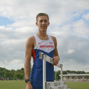Plymouth hurdler David King receives late call-up for Anniversary Games