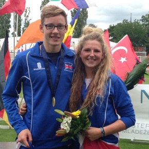 Plymouth pentathletes win GB relay bronze medal at European Champs