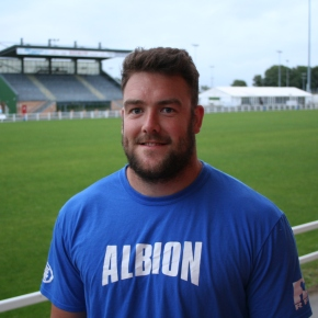 New Zealander Penman is loving life at Plymouth Albion