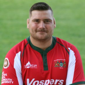 Lock Collier is enjoying his second spell at PlymouthAlbion