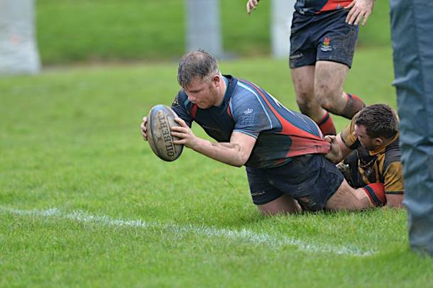 Matt Anstis, who is one of Services' senior players (picture by Mark Andrews)