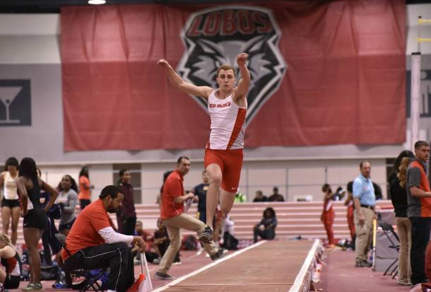 Sam Trigg (picture courtesy of Mike Mulcahy/UNM Athletics).