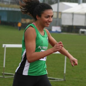 Plymouth hurdler Simson sets new PB on her debut at BritishChamps