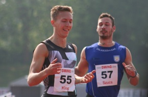 City hurdler King in consistent form at South West Athletics Gala