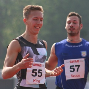 ATHLETICS: Season's best for King in Poland, while PBs go at Exeter BMC Meeting
