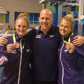 Plymouth divers Couch and Barrow look for individual success in Rio