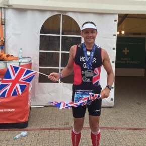 Plymouth Tri Club's Holder wins silver medal at European Long Course TriathlonChamps
