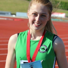 Plymouth's Bee wins medal at English Schools' Combined Events Champs