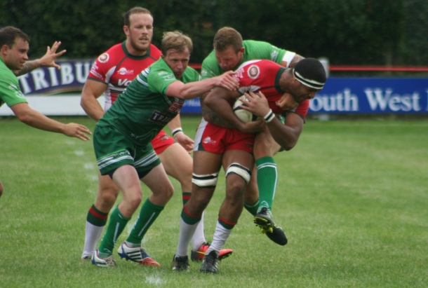 Nile Dacres Plymouth Albion v Redruth