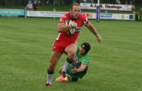 GALLERY: Crosscombe's try secures Albion narrow pre-season win atRedruth
