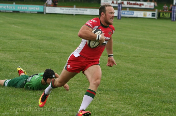 Matt Crosscombe Plymouth Albion Redruth