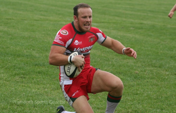 Matt Crosscombe will make his Plymouth Albion league debut on Saturday