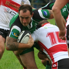 RUGBY ROUND-UP: Ivybridge suffer first defeat of the season, but joy for Services and Oaks