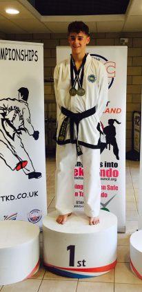 National champion: Rhys Roffey