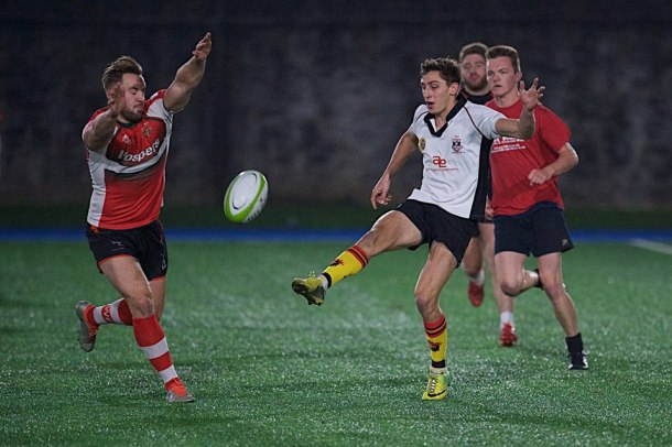 Devonport Services trained with Plymouth Albion this week ahead of their game with St Austell (picture by Mark Andrews)