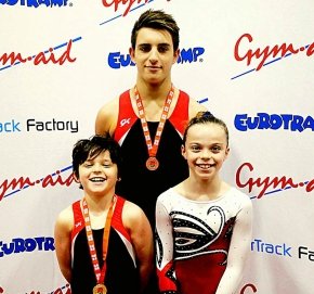 City of Plymouth Trampoline and Gymnastics Club end year on a high