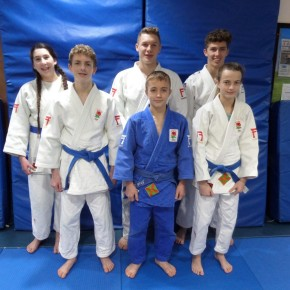 Judo club celebrates after six members earn England honours