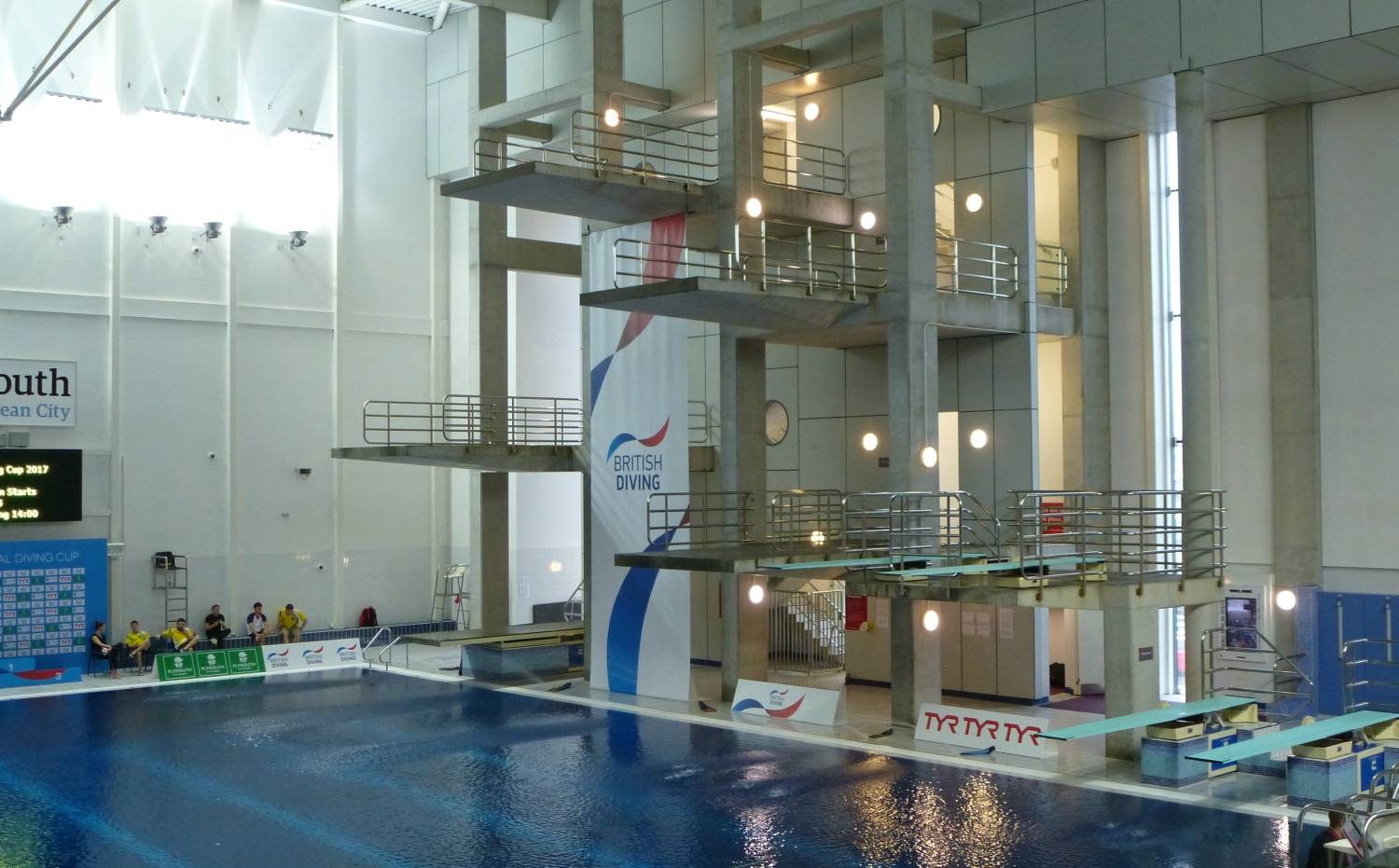 Lobb And Dixon Impress On Second Day On National Diving Cup In Plymouth