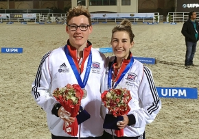 Plymouth pentathletes Pillage and Bryson impress at World Cup event inCairo