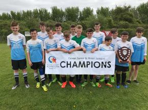 Marine Academy Kings under-13s have a season to remember