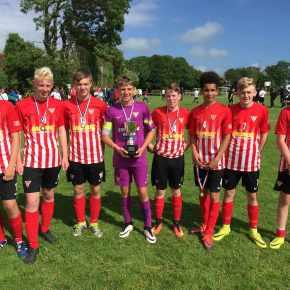 Elburton Villa U14s continue their success at annual summertournament