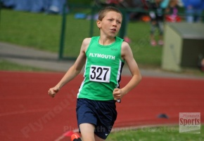 Plymouth and Tavistock athletes among the medals at Cornwall County Champs