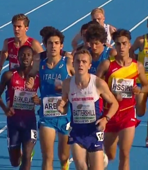 Erme Valley's Battershill safely qualifies for European Under-20 steeplechasefinal