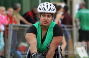 City of Plymouth's Shayea wins three medals at IPC event at Bedford