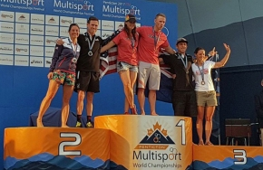 Hooper wins a silver medal at ITC Cross Triathlon World Championships in Canada