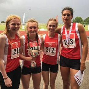 Bee and Harris set PBs to help Devon win heptathlon team title at English Schools' Champs