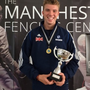 Andrews wins British Ranking Competition at Manchester Fencing Centre