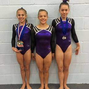 Plymouth Swallows gymnast Stacey becomes South West champion