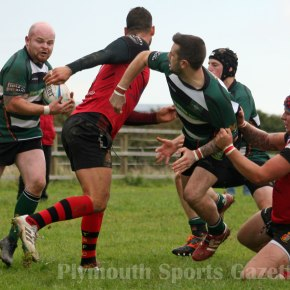 RUGBY REPORTS: League wins for Ivybridge, Services, Argaum and Saltash