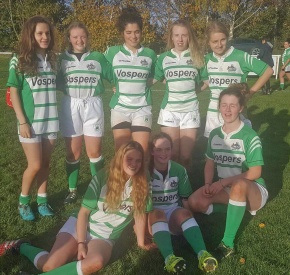 Devonport Services girls impress for Devon againstGloucestershire