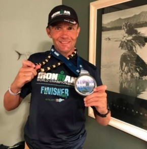 Holder and Fell overcome tough conditions at World Ironman Championships inHawaii