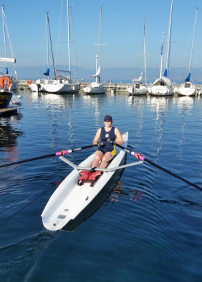 Mayflower Offshore Rowing Club impress at World Coastal Championships on LakeGeneva