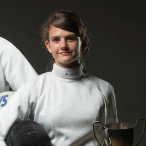 Plymouth fencer Black joins Andrews in Great Britain cadet squad for Austrian event