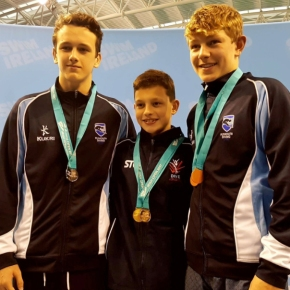 Plymouth Diving enjoy successful trip to Dublin for IrishOpen