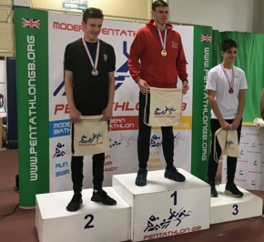 Plymouth College pupil Mills-Shute wins silver at British Modern Biathlon Champs
