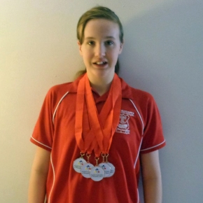 Devonport Royal's Daly produces five-star showing at National Para-Swimming Champs