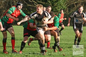 GALLERY: Pictures from the New Year's Day match between Old Techs and Tamar Saracens