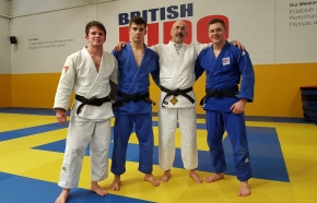 Seven members of judo club earn selection for England programmes