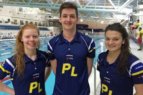 Plymouth Leander trio join Proud in England team for April's Commonwealth Games