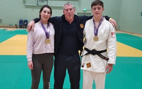 Plymstock School siblings claim gold medals at Judo Scotland Cadet Open