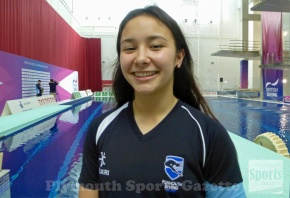 Vincent selected to compete at Eight Nations Youth Diving Meet inNorway